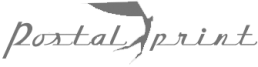 Logo Postalprint en gris